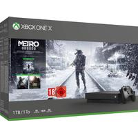 Microsoft Xbox One X 1TB - Metro Saga Bundle