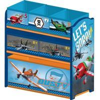 Delta Children Planes Multi-Bin Toy Organizer