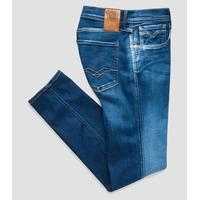 Replay Hyperflex Slim Fit Anbass Jeans - Blue Denim