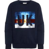 Name It Kids Flip Sequin Sweatshirt - Blue/Dark Sapphire (13164656)