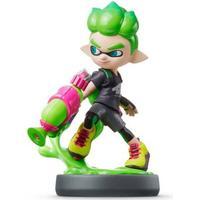 Nintendo Amiibo - Splatoon Collection - Inkling Boy (Lime Green)
