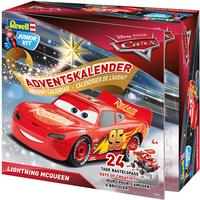 Revell Junior Kit Disney Pixar Car Advent Calender Lightning McQueen 2018
