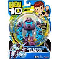 Playmates Toys Ben 10 Omni Enhanced Shock Rock