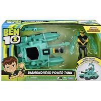 Playmates Toys Ben 10 Diamondhead Power Tank