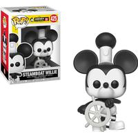 Funko Pop! Disney Mickey's 90th Birthday Steamboat Willie