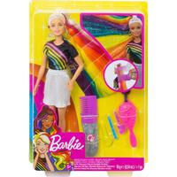 Mattel Barbie Rainbow Sparkle Hair Doll