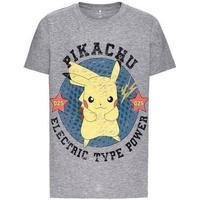 Name It Pokemon T-shirt - Gray