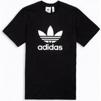 Adidas Trefoil Tee - Black