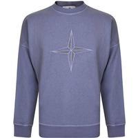 Stone Island Chest Logo Sweatshirt - Lavender V0147