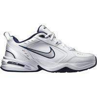 Nike Air Monarch IV WhiteMetallic Silver Hitta bästa