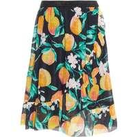 1c700132c0a Name It Kid's Sheer Peach Print Wrap Skirt - Blue/Dark Sapphire (13164690)