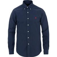 Polo Ralph Lauren Garment-Dyed Oxford Shirt - Navy