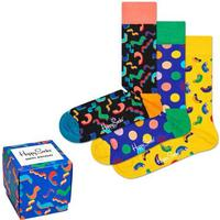 Happy socks 3-pack Happy Birthday Gift Box - Mixed - Strl 41/46