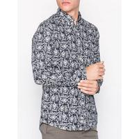 Morris Sauville Button Down Shirt Skjortor Blue - Medium, Large, X-Large, Small