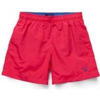 Gant Classic Swim Shorts - Bright Red (5001)