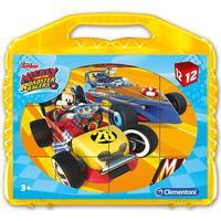 Clementoni Disney Junior Mickey & the Roadster Racers 12 Pieces