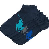 Polo Ralph Lauren 3-Pack Sneaker Big Pony Socks Navy (One size)