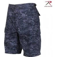 Rothco BDU Shorts - Midnight Digital Camo (3XL)