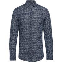 Man Woven Shirt Skjorta Business Blå ARMANI EXCHANGE - M,S