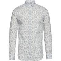 Man Woven Shirt Skjorta Business Vit ARMANI EXCHANGE - M
