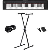 Yamaha NP-32 B Piaggero el-piano svart, Paketlösning
