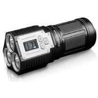 Fenix TK72R, Ficklampa, Svart, Gjuten aluminium, 2 m, IP68, 3 lamp(s)