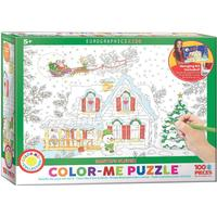 Eurographics Color Me Santa's Sleigh 100 Pieces