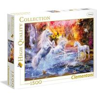 Clementoni High Quality Collection Wild Unicorns 1500 Pieces