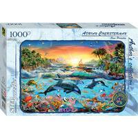 Step Puzzle Orca Paradise 1000 Pieces