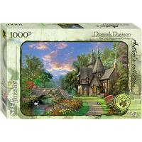 Step Puzzle Dominic Davison the Old Waterway Cottage 1000 Pieces