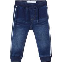 Name It Baby Sweat Denim Jeans - Blue/Dark Blue Denim (13160571)