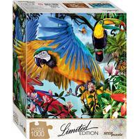 Step Puzzle Parrots 1000 Pieces