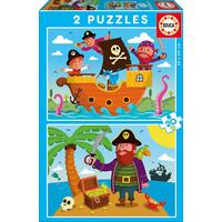Educa Pirates 2x20 Pieces