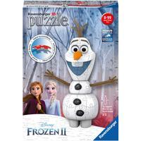 Ravensburger Frozen 2 Olaf Shaped 3D Puzzle 54 Pieces