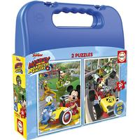 Educa Mickey & The Roadster Racers Case 2x20 Pieces