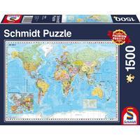 Schmidt The World 1500 Pieces