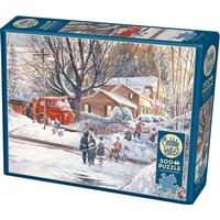 Cobblehill Big Game Tomorrow 500 Pieces