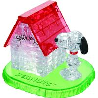 Hcm-Kinzel Crystal Puzzle Snoopy House 50 Pieces