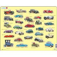 Larsen Beginner Puzzle Automobiles 30 Pieces