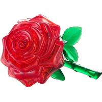 Hcm-Kinzel Crystal Puzzle Rose Red 44 Pieces