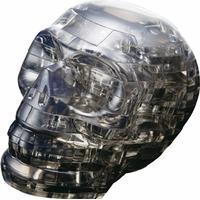 Hcm-Kinzel Crystal Puzzle Skull Black 49 Pieces