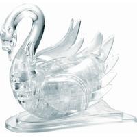 Hcm-Kinzel Crystal Puzzle Swan Transparent 44 Pieces
