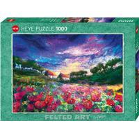 Heye Sundown Poppies 1000 Pieces