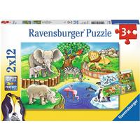 Ravensburger Animals in the Zoo 24 Pieces