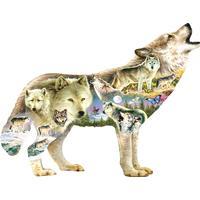 Sunsout Greg Giordano Meadow Wolf XXL 750 Pieces
