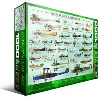 Eurographics World War I Aircraft 1000 Pieces