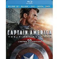 Captain America The First Avenger (3d Superset (DVD)