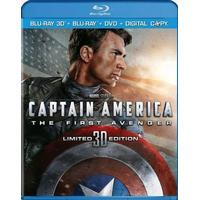 Captain America: The First Avenger (Blu-ray 3D + Blu-ray + DVD)