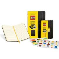Moleskine Limited Edition Lego Yellow Brick Pocket Ruled notebook black cover (Moleskine Cover Art)