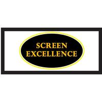 """Screen Excellence Reference Enlightor 4K 2:35:1, 2:37:1 (21:9) 87"""" Ramspänd"""